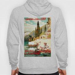 Switzerland and Italy Via St. Gotthard Travel Poster Hoody