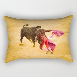 Corrida portugaise torero Rectangular Pillow