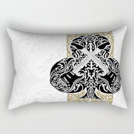 Resonate Bridge | Ace of Clubs Rectangular Pillow