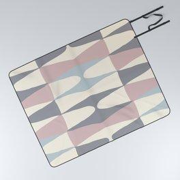 Zaha Pastel Picnic Blanket