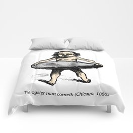 The Oyster Man Cometh Comforters