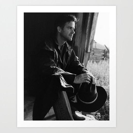 Cowboy 1 Art Print