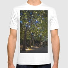 A slight touch of Romance MEDIUM White Mens Fitted Tee