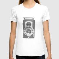 vintage T-shirts featuring Vintage Camera by Ewan Arnolda