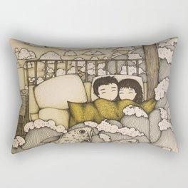 swept away & stranded Rectangular Pillow