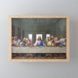 The Last Supper by Leonardo da Vinci Framed Mini Art Print