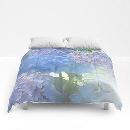 Hydrangeas Glow Comforters