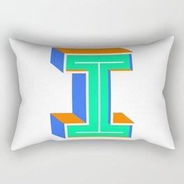 Letter I Rectangular Pillow