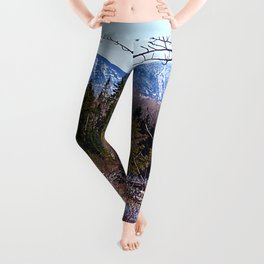 The Way to the Mountain Leggings