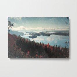 The Fjord Metal Print