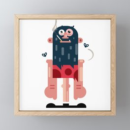Rocky Framed Mini Art Print