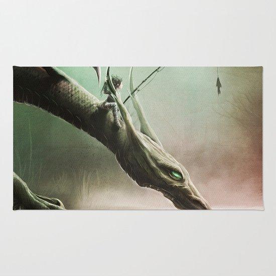 Fishing On The Drinking Dragon Rug