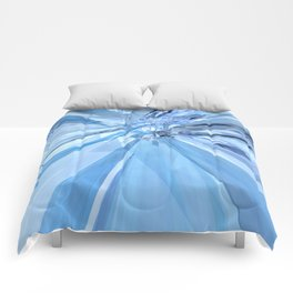 Blue Crystals Comforters
