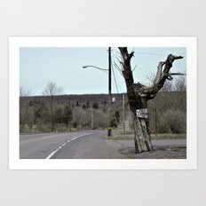 Welcome to Centralia Art Print