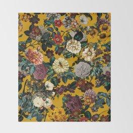 Exotic Garden V Throw Blanket