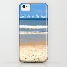 Take Me To The Sea iPhone 5c Slim Case