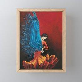 Spanish Flamenco Dancer Framed Mini Art Print