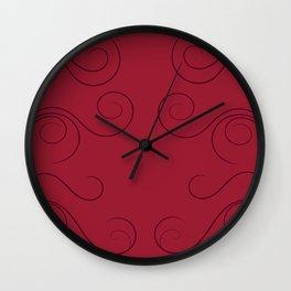 Floral elegant Wall Clock