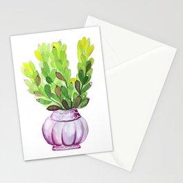 Succulent Vase Stationery Cards