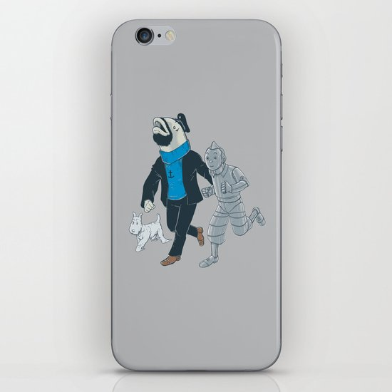 The Literal Adventures of... iPhone & iPod Skin