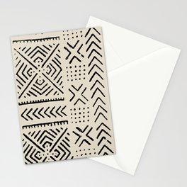 Line Mud Cloth // Bone Stationery Cards
