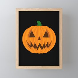 Jack O Lantern Framed Mini Art Print