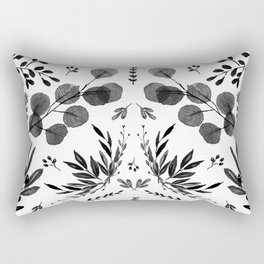 Black and white scence Rectangular Pillow