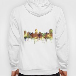 Fresno, California Skyline SG - Safari Buff Hoody