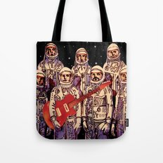Astronauts with Guitar Tote Bag