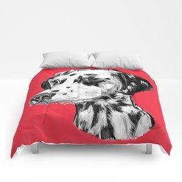 Dalmatian Red  Comforters