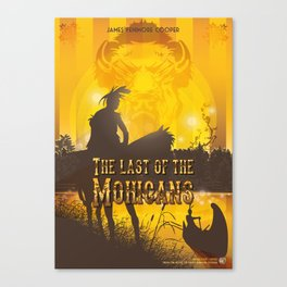 Mohicans Canvas Print
