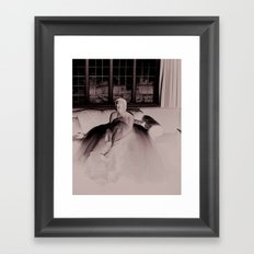 laces Framed Art Print
