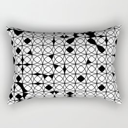 o x o - wb Rectangular Pillow