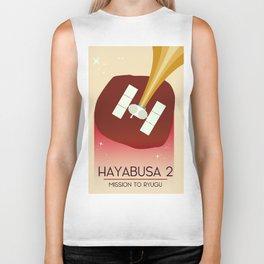 Hayabusa 2 Space Art. Biker Tank