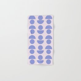 Shapes in Periwinkle Hand & Bath Towel