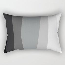 Geometric Harmony Angles Abstract Rectangular Pillow