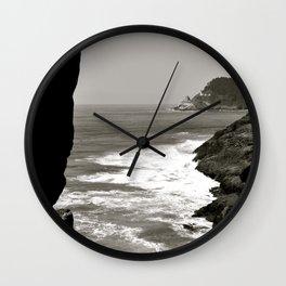 Water & Rocks Wall Clock
