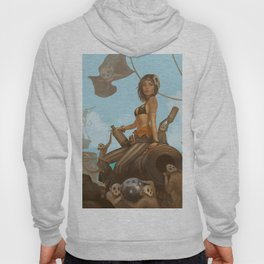 Jacquotte the monkey queen Hoody