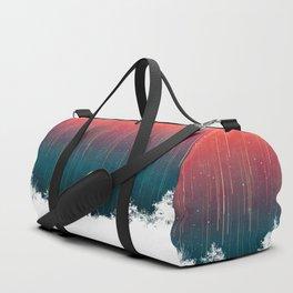 Meteoric rainfall Duffle Bag