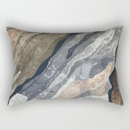 Abstract Color Patterns Rectangular Pillow