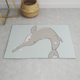 Baiji Dolphin Rug