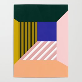 Abstract room b Poster