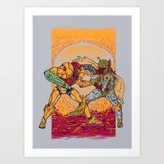 Bounty Hunting Art Print