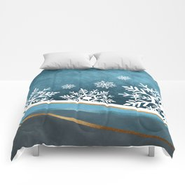 Winter Night Comforters