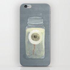Eyeball in Mason Jar iPhone & iPod Skin