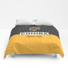 Cohiba habana cuba Comforters