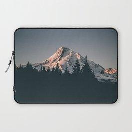 First Light on Mount Hood Laptop Sleeve