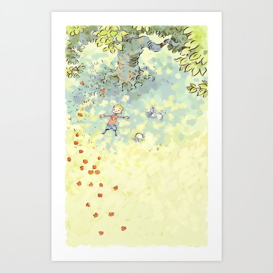 Rest In The Shade Art Print