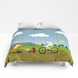 Happy riders Comforters