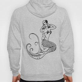 Pinup Mermaid - Miss Bettyanne Hoody